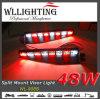 LED Dash Visor Emergency Warning Strobe Lights Bars