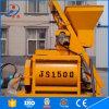 Js Type Stationary Double Twin Shaft Js1500 Concrete Mixer