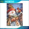 Warm Wishes Snowman Garden Christmas Winter Yard Banner Flag (M-NF06F11028)
