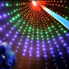 LED Holiday Twinkle Net Light Flag Pole Light Decoration