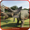 Animatronic Triceratops Theme Park Dinosaur for Sale