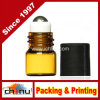 1 Ml, DRAM Amber Glass Micro Mini Roll-on Glass Bottles with Metal Roller Balls - Refillable Aromatherapy Essential Oil Roll