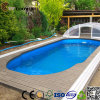 Wood Plastic Composite Decking for Above Ground Swimming Pools