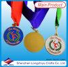 Gymnastics Medal Ribbon Logo Enamel