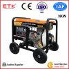 3kw Portable Diesel Generator Set with 7HP Diesel Engine