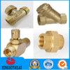 CNC Machining Brass Angle Lockable Ball Valve