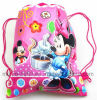 Travelling Cartoon Nonwoven Drawstring Bag for Girs (M. Y. D-028)