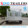 10X5 Fully Welded & Heavy Duty Box & Cable Disc Brake Tandem Trailers