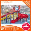 Fiberglass Kids Water Play Slide Equipment for Swimming Pool