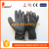 Ddsafety 2017 10 Gauge Black T/C Shell Black Latex Coating Crinkle Finish Safety Glove