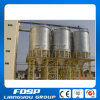 Hopper Bottom Wheat Silo with Steel Structure Building Support