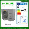 Germany Evi Tech-25c Winter Floor Heating 120sq Meter Room12kw/19kw Inverter Air Water Heat Pump Condensor Split Indoor High Cop