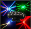 Four Independent Heads 8X10W LED Moving Head Spider Light