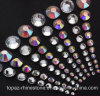 Ss4 1.5mm Clear Flat Back Czech Glass Rhinestone for Nail Beauty Decoration (FB-ss4 clear)