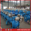 Cast Steel Flanged Trunnion Ball Valve with Actuator