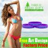 Promotion Cheap Eco-Friendly Custom Design Elastic Silicone Bracelet for Men