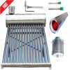 Non-Pressurized Stainless Steel Low Pressure Evacuated Tube Solar Water Heater/Calentadores Solares