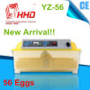CE Marked Automatic Mini 56 Chicken Egg Incubator (YZ-56)
