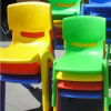 Plastic Furniture Kindergarden Kids Stool Stackable Children Chair