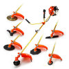 China Best 65cc 7 in 1 Multifuction7 in 1 Brush Cutter, Hedge Trimmer, Pole Saw, Grass Trimmer