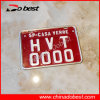 Embossed & Printed Car Number Plate