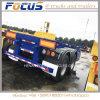 2 Axles Cimc 20FT Standard Container Skeleton Truck Semi Trailer