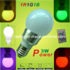 3W RGB Bulb Lamp with Remote Controller