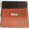 Anti Slip Rubber Mat/Interlocking Anti Slip Rubber Mat/Anti-Slip Kitchen Mats