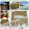 Artificial Thatched Roof Tiki Bar Tiki Hut Synthetic Thatched Cottage Thatched House for Resort