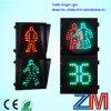 Dynamic LED Flashing Pedestrian Crossing Roadway Signal Light with Digital Countdown Timer