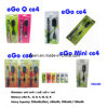 Electronic Cigarette/ E Cigarette in Blister Packs, EGO CE4/ EGO CE5/ EGO CE6/ EGO CE8/ EGO CE9, Different Battery and Clearomizer, High Quality, No Leaking