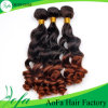 Hair Weave Ombre Body Wave Human Hair Bulk with Highlights