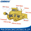 Elevated Sprocket Hydraulic Direct Drive Energy-Saving Bulldozer Supply