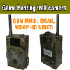 Digital Scouting Camera with GSM MMS/GPRS/Email, Remote Controller, 1080P HD Video (HC300MMS)