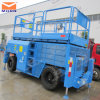 10m Height Rough Terrain Scissor Lift