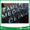 Waterproof Shop Sign Stainless Steel LED Reverse Lit Channel Letter