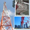 Galvanized Bts Radio Lattice Steel Telecommunication Tower Made in China