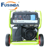 100% Copper Wire 220V Electric Start Home Use Gasoline Generator 5kw