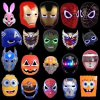 2017 Wholesale Halloween Party Face Mask Cosplay Halloween Masks