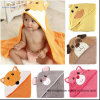 Animal Designs of Baby Hooded Bath Towel with High Quality