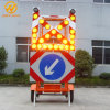 Road Construction Mobile Solar Traffic Signal Directional Arrow/Cross Board Trailer