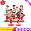 Decoration Basketball Cartoon Character Plastic Figure Toy