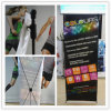 Advertising Display X Banner Stand with Potable Traveling Bag for Trade Show