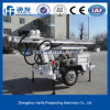 Two Wheels Small Water Drilling Rig (HF120W)