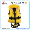 Yellow Color Ce Certificate Kids Nylon Life Vest