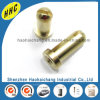 Customize Nonstandard Blind M4 Brass Slot Bolt