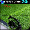 20mm Soft Synthetic Grass with Green Straight+Green Curl Color