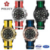 Mens Collection Nylon Strap Watch with Waterproof 50m