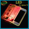 Heart Shape Liquid Quicksand LED Phone Case for iPhone 7