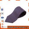Handmade Mens Skinny Custom Pattern Woven Linen Necktie